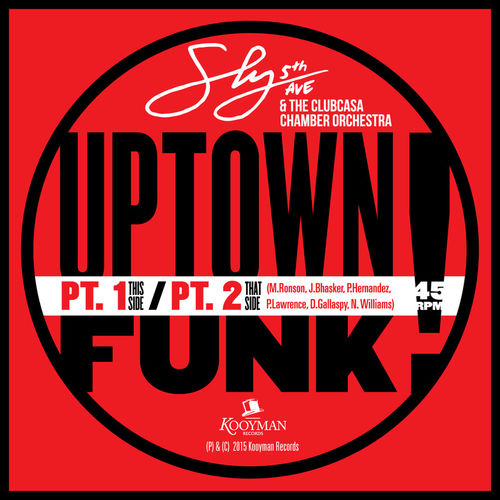 "Mood du jour : ""Uptown Funk"" Sly5thave."