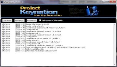 برنامج vPlug Server