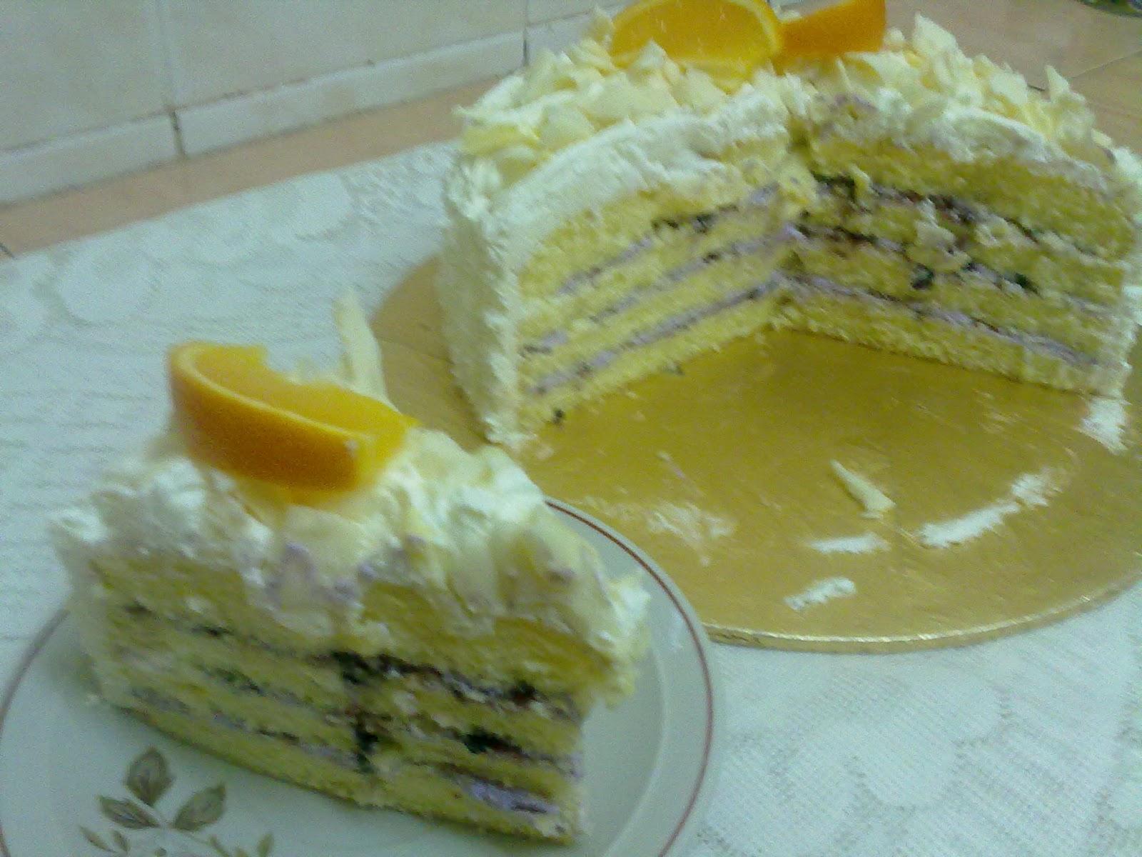 Dapur Chomey Aleen Aireish: SNOW CHEESE CAKE