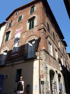 Lucca-Casa natal de Giacomo Puccini.