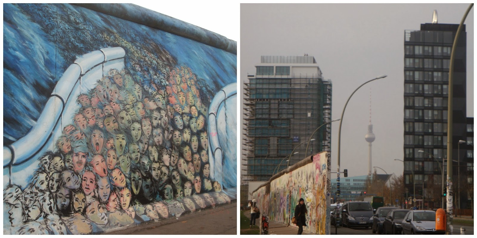East Side Gallery em Berlim