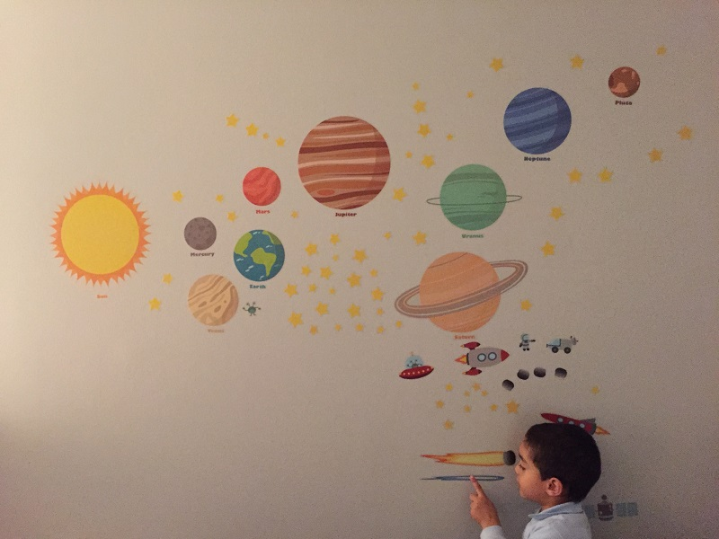 Treepenguin Space Wall Decals