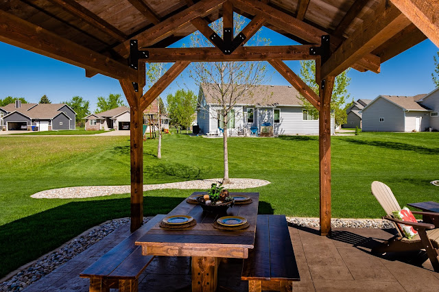 enhanced character and definition for yourbackyard space