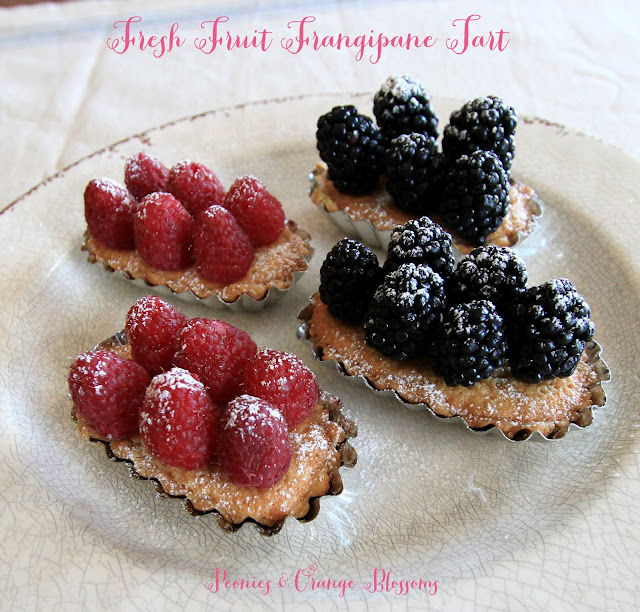 Fresh Fruit Frangipane Tart Recipe