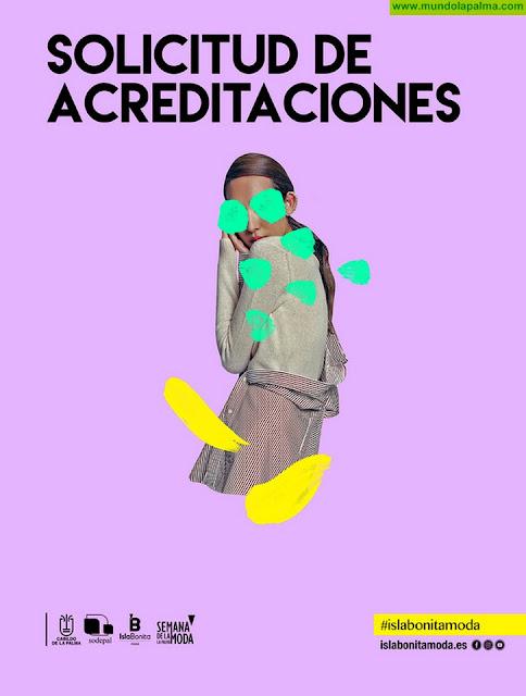 La Semana de la Moda de La Palma abre el plazo para solicitar acreditaciones