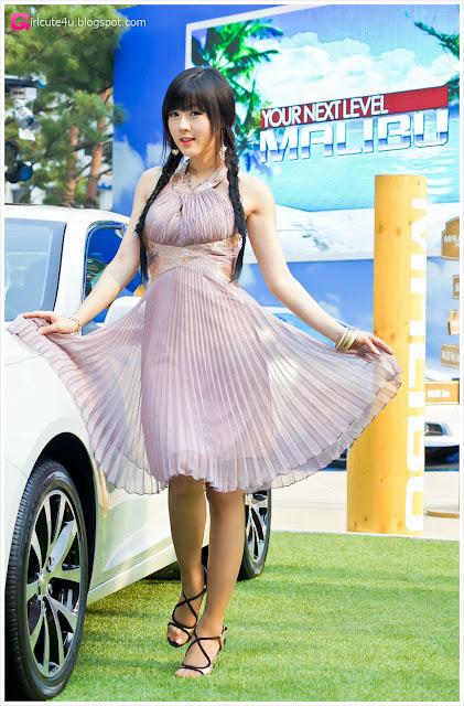 xxx nude girls: Chevy Malibu Event: Hwang Mi Hee