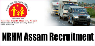 NRHM Assam Medical Officer Recruitment