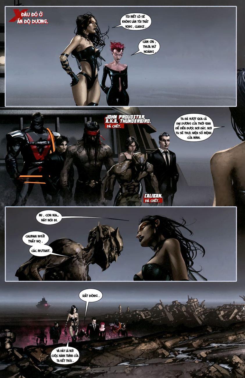 X-Men Necrosha chap 1 trang 25