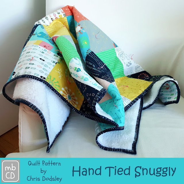 Hand Tied Snuggly Quilt Pattern by madebyChrissieD.com