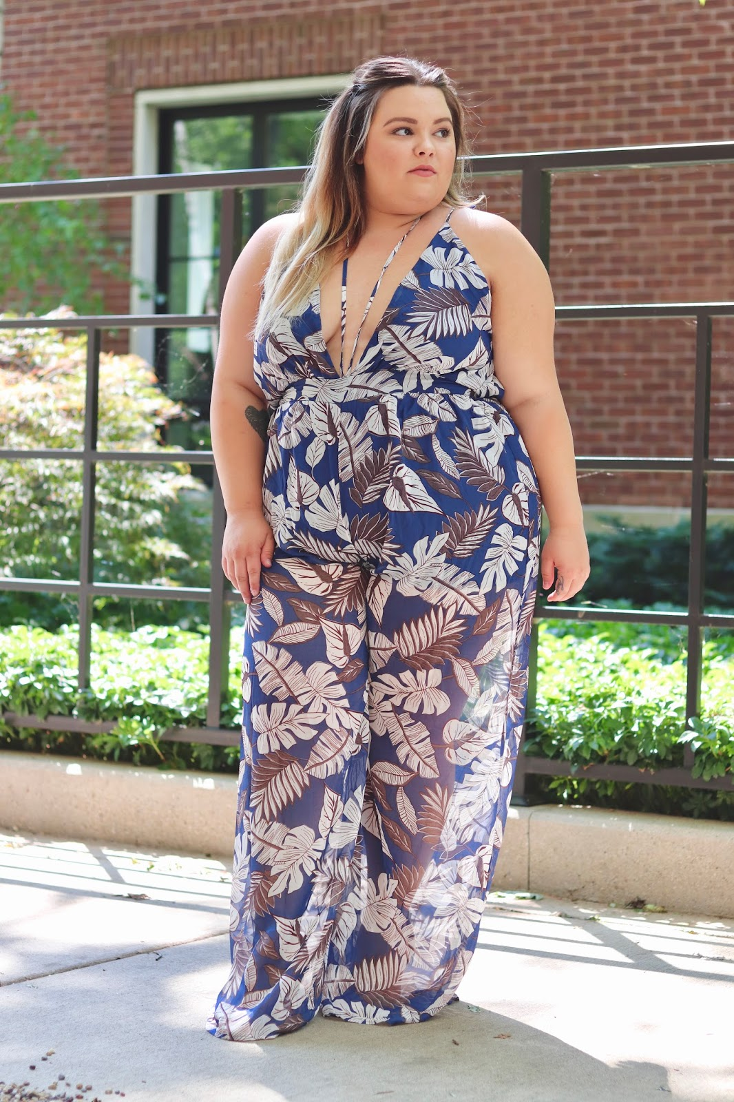 chicago plus size fashion blogger, plus size fashion blogger, fashion nova curve, fashion nova, blogger review, sexy jumpsuit, plus size clothing, affordable plus size clothes, plus size jumpsuits, natalie craig, Natalie in the city, curves and confidence, full figured fashion, plus size, eff your body standards, embrace your curves