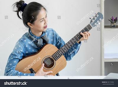 tutorial belajar gitar pemula tahap demi tahap
