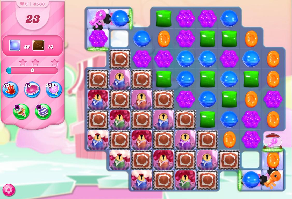 Candy Crush Saga level 4568