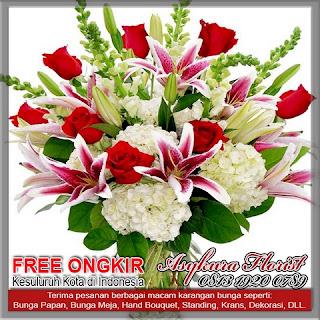 toko bunga meja Bekasi Barat kota bekasi