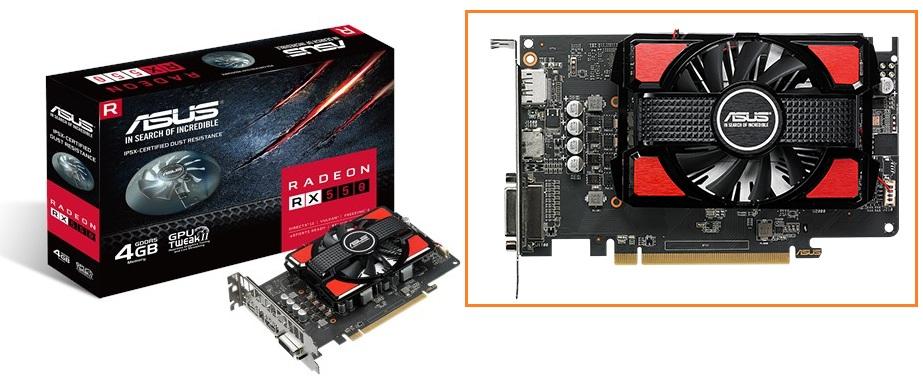 VGA: Information & Support: VGA Driver ASUS RX550-4G, AMD ...