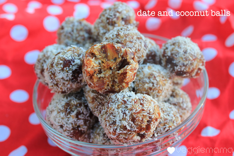 date and coconut balls