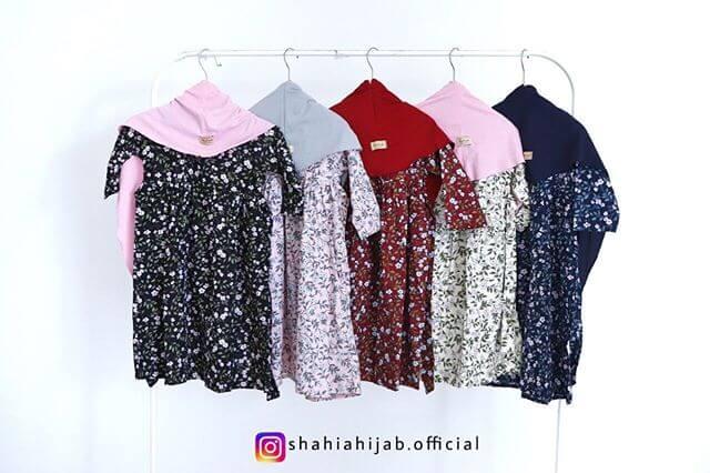 gamis anak motif by Shahia Hijab