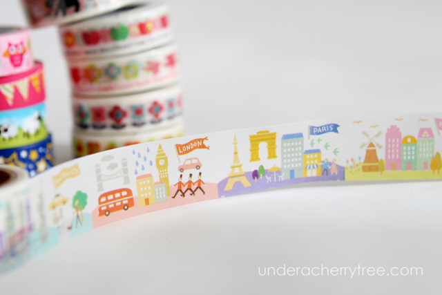Under A Cherry Tree Washi Tape From Daiso