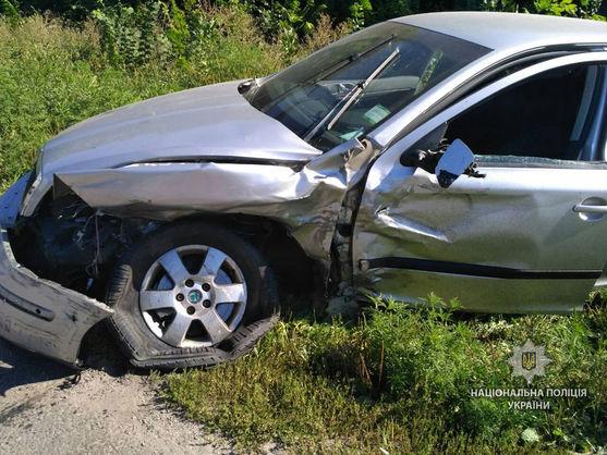 В результаті ДТП у Полтавській області загинула жінка, двоє дітей травмовано