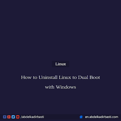 How to Uninstall Linux to Dual Boot with Windows