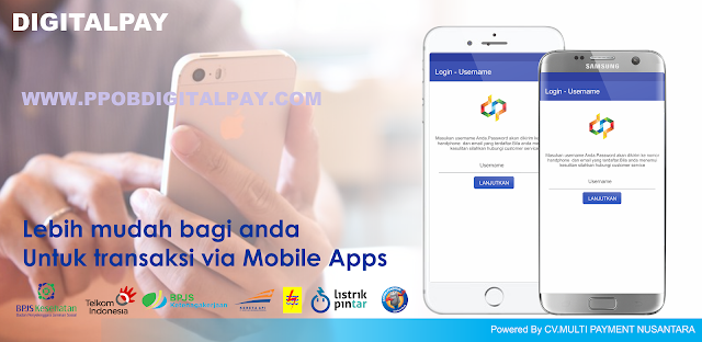 Digital Pay, Loket PPOB Pembayaran Mega Central Finance