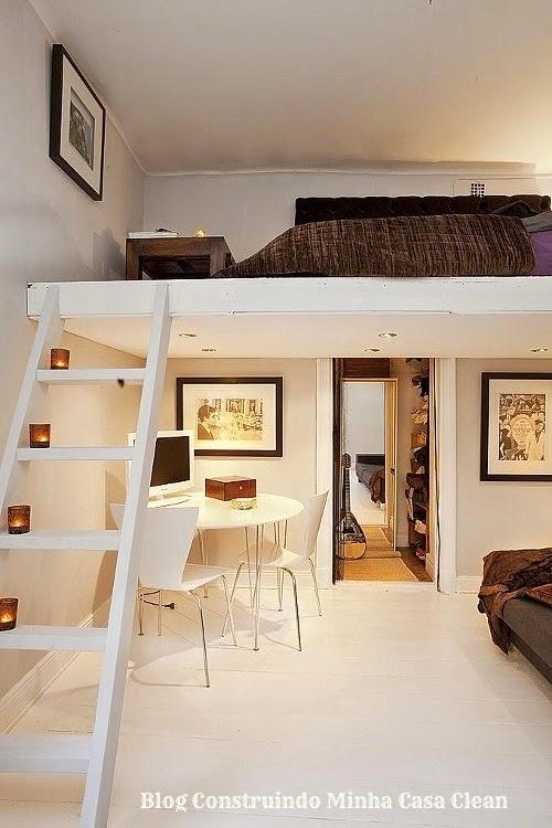 construindo minha casa clean 27 quartos com mezanino