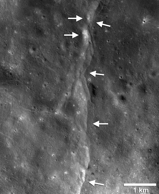 The Moon Is Shrinking and That's Causing Moonquakes