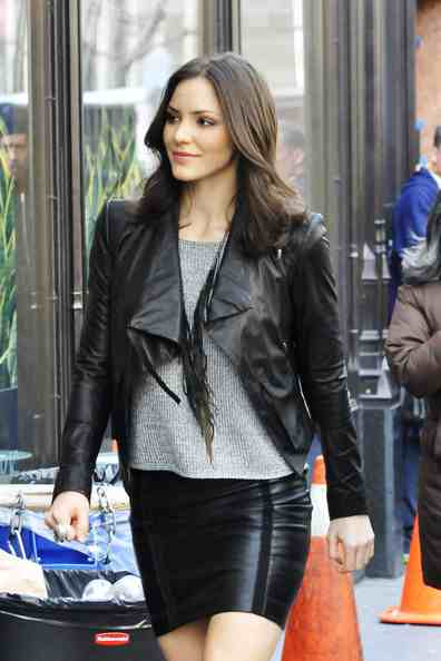 Lovely Ladies In Leather Katharine Mcphee In A Tight