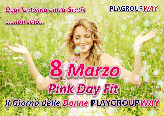Pink Day Fit by Playgroupway, 08 marzo 2016 a Torgiano, Perugia