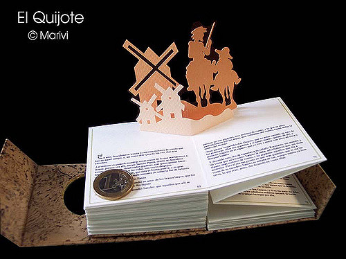 Libros PopUp Books Cards Don Quijote Maravilloso Libro PopUp