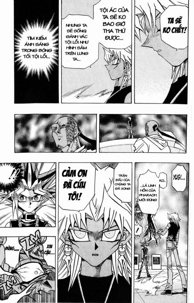 YUGI-OH! chap 276 - lời nguyền bóng tối trang 9