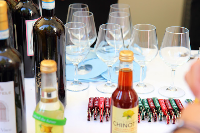 Bottiglie di vino, Chinotto Lurisia e Slow Food