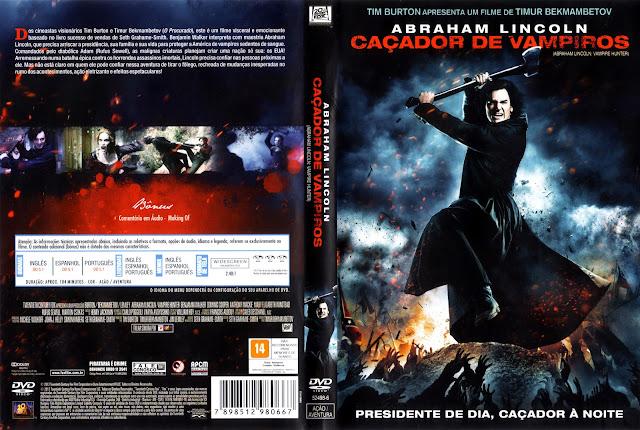 Capa DVD Abraham Lincoln: Caçador de Vampiros