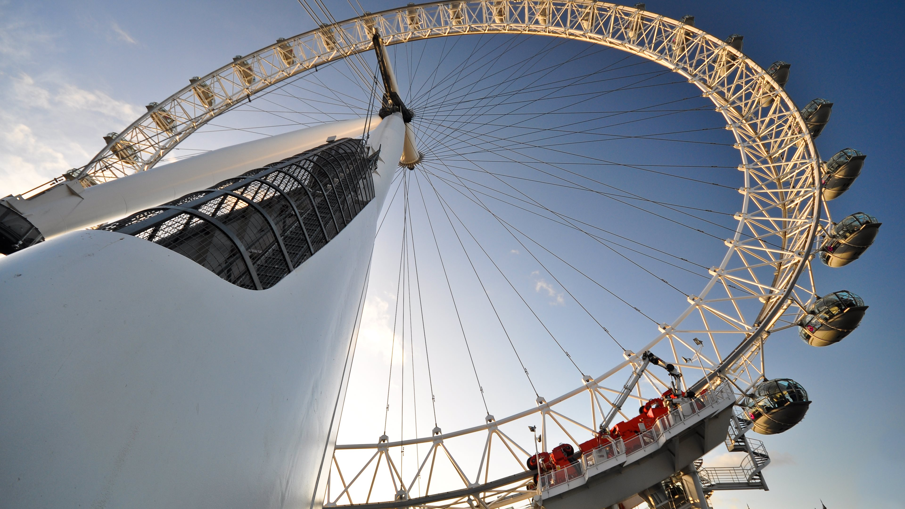 group of london eye wallpaper 4k