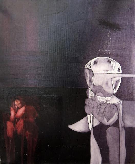 Óscar césar Mara pintura contemporánea surrealista