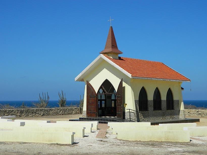 Alto Vista Chapel - Guia completo: o que fazer em Aruba. Foto: Wikimedia Commons