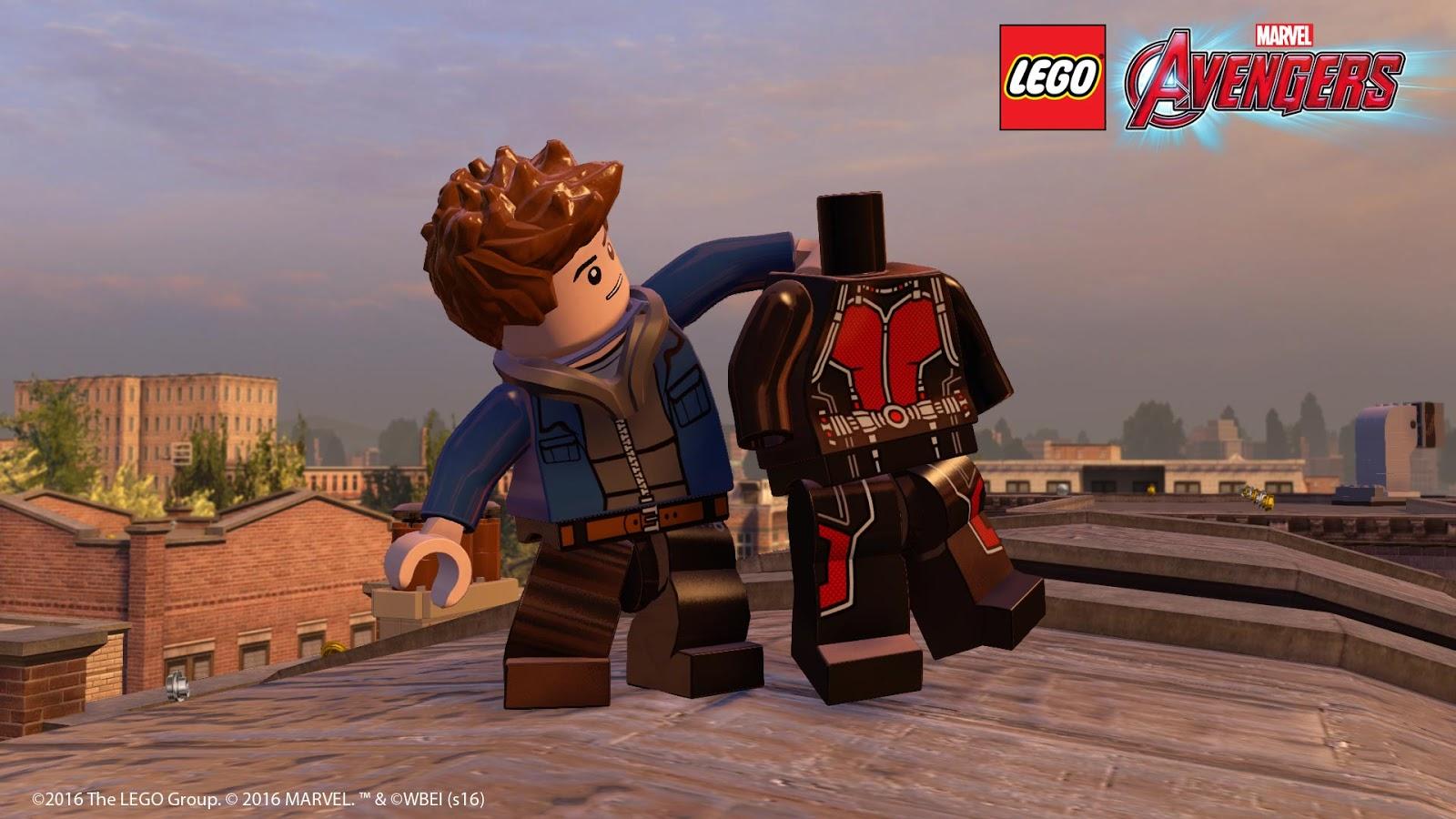 DLC gratuita 'Ant-Man' é lançada para LEGO Marvel Avengers ...