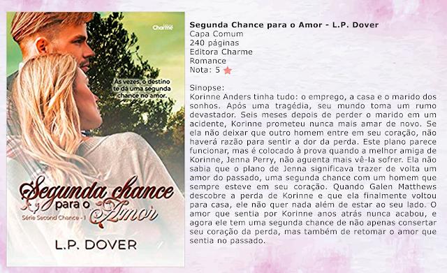 Segunda Chance para o Amor - Second Chance #01 - L.P. Dover