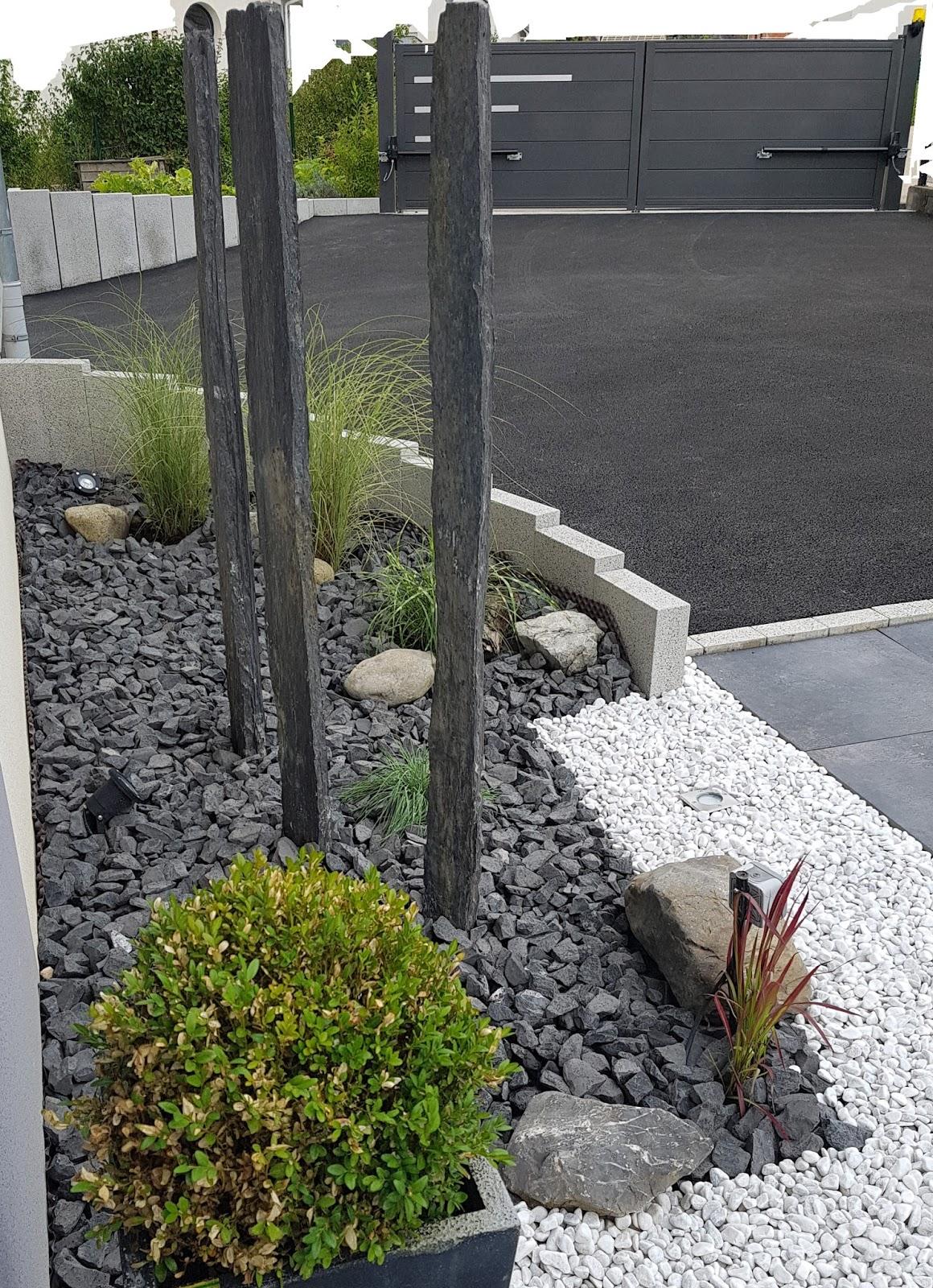 palissade ardoise fabuleux cration showroom ct dco celt ardoise jp https www arstil bzh. Black Bedroom Furniture Sets. Home Design Ideas