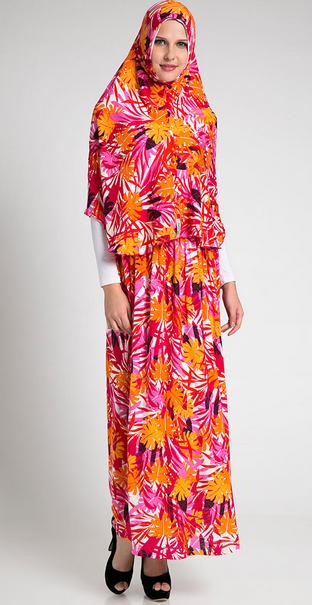 Trend Fashion Baju Muslim Ibu Hamil Untuk Lebaran 2015