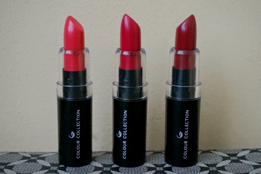 Colour Collection HD Lipsticks from Sample Room