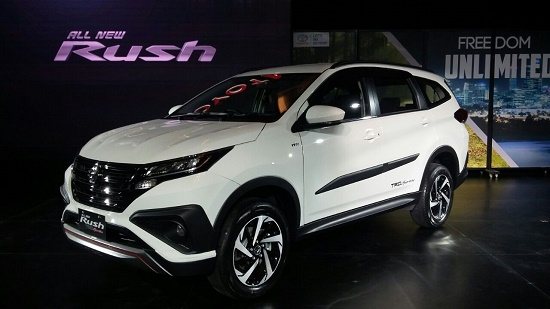 all new toyota rush 2018 trd putih