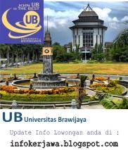 Lowongan Kerja Universitas Brawijaya (UB) Malang