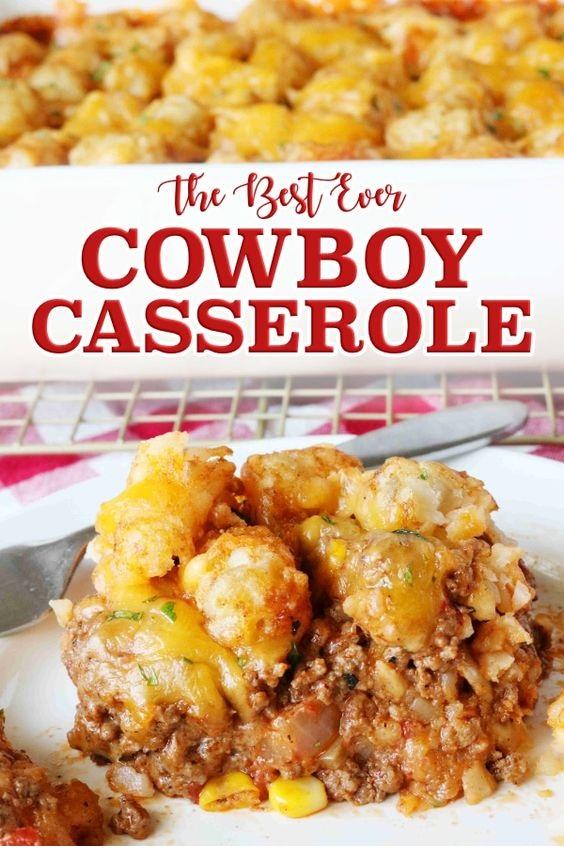 Easy Cowboy Casserole