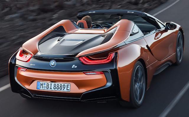 BMW i8 2018 Roadster