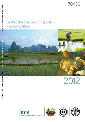 Lao PDR's Rice Policy Study 2012