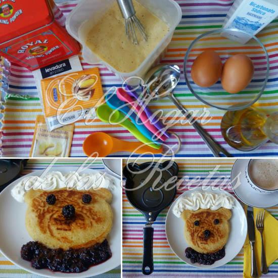 Ingredientes y utensilios para hacer unas buenas tortitas de masa madre
