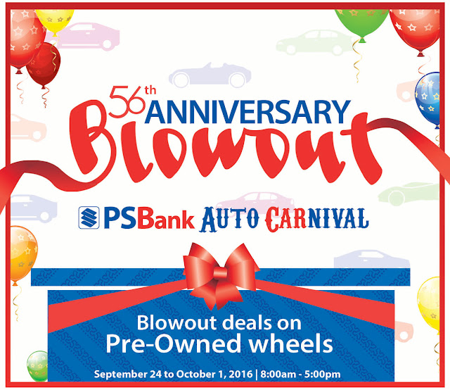 PSBank's 56th Anniversary Blowout Deals for 2016