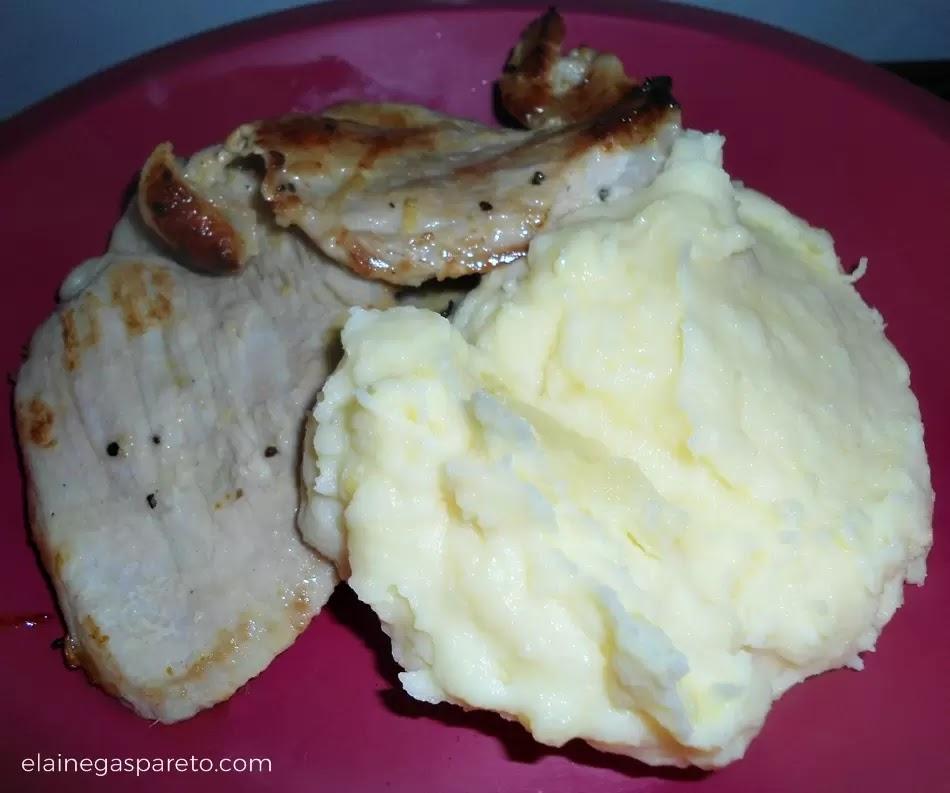 Purê de batata especial com cream cheese