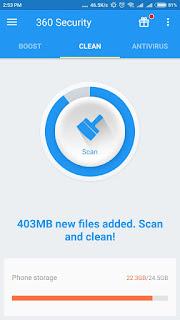 360 Mobile Security – Antivirus Daftar Antivirus Gratis Terbaik Untuk Android