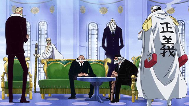 tugas para gorosei, lima tetua penjaga kedamaian dunia One Piece